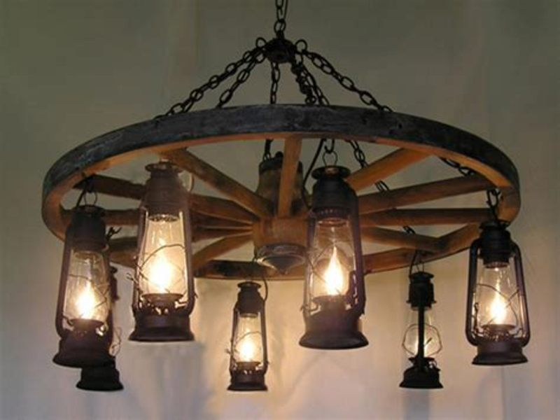 Rustic Chic Light Fixtures