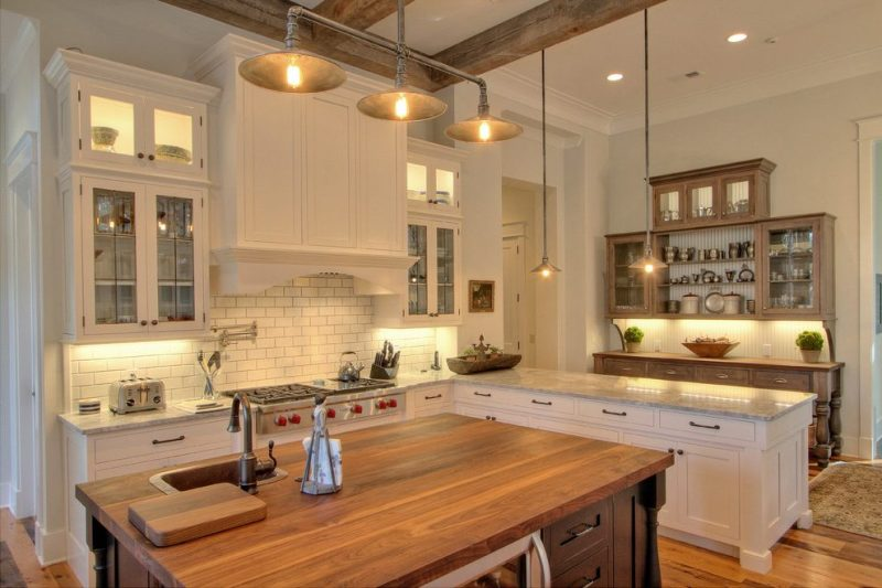 Rustic Kitchen Light Fixtures