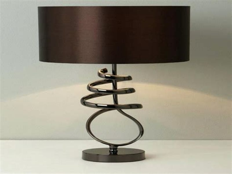 Image of: Rustic Table Lamp Shades