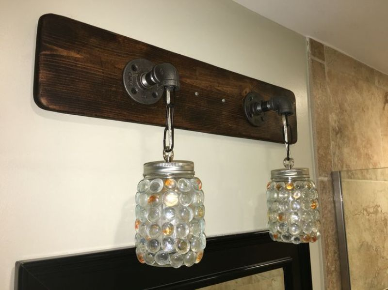 Rustic Vanity Light Fixtures