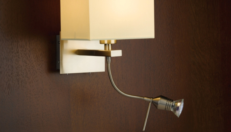 Picture of: Sconce Lighting With Switch