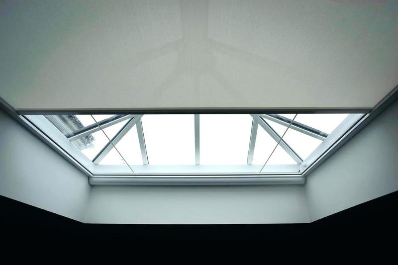 Picture of: Modern Shades For Skylights Motorized