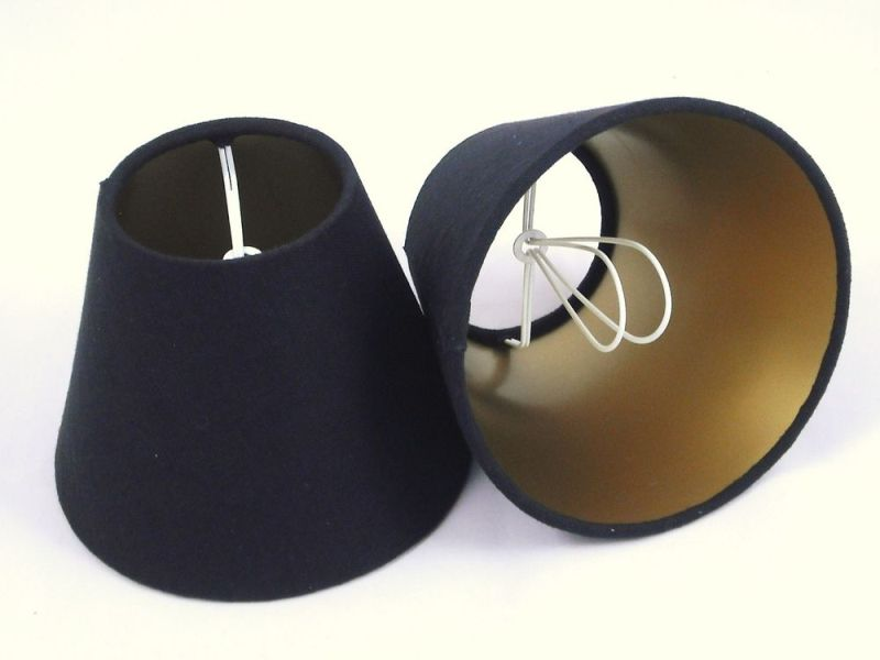 Picture of: Small Black Lamp Shades