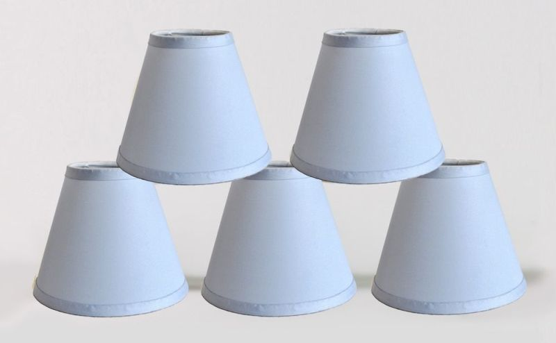 Image of: Small Clip On Lamp Shades Design