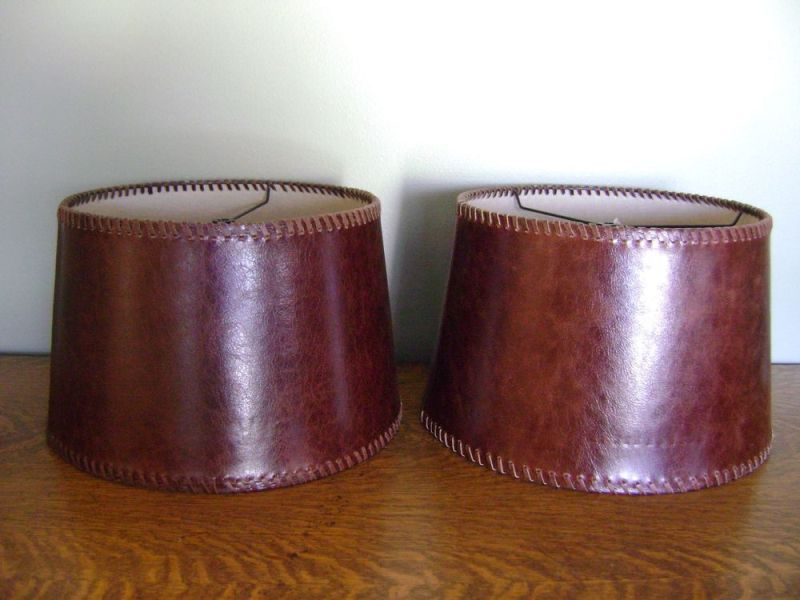 Image of: Small Drum Lamp Shades