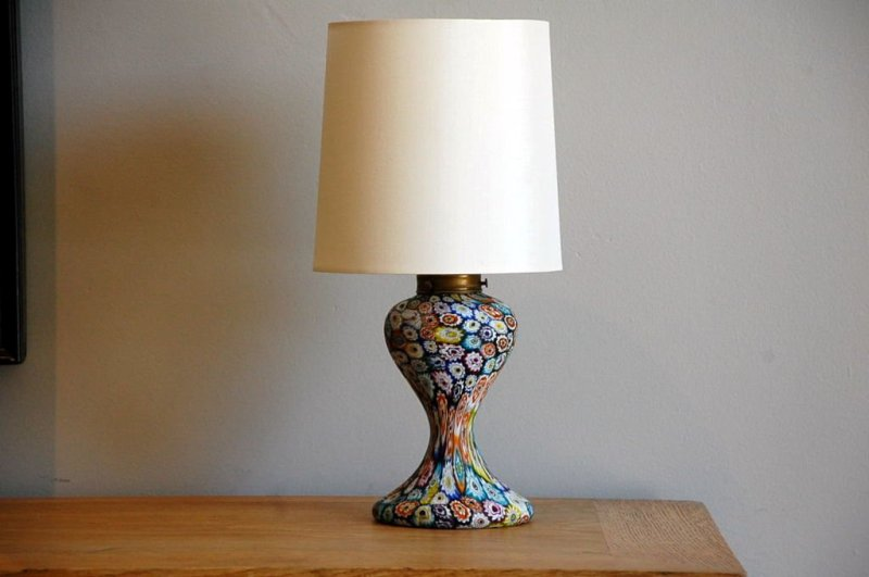 Image of: Small Glass Lamp Shades