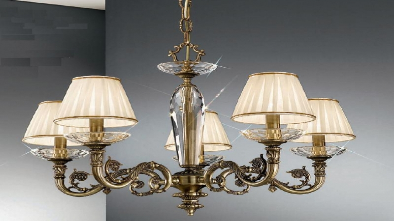Image of: Small Lamp Shades For Chandelier