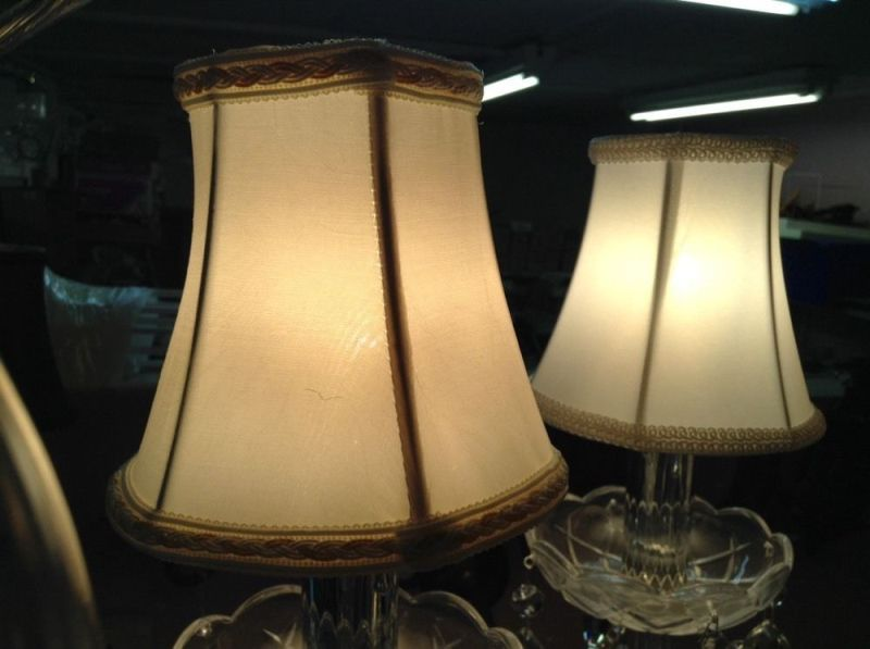 Image of: Small Vintage Lamp Shades Design