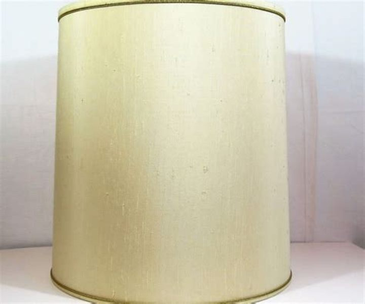 Image of: Tall Drum Lamp Shades