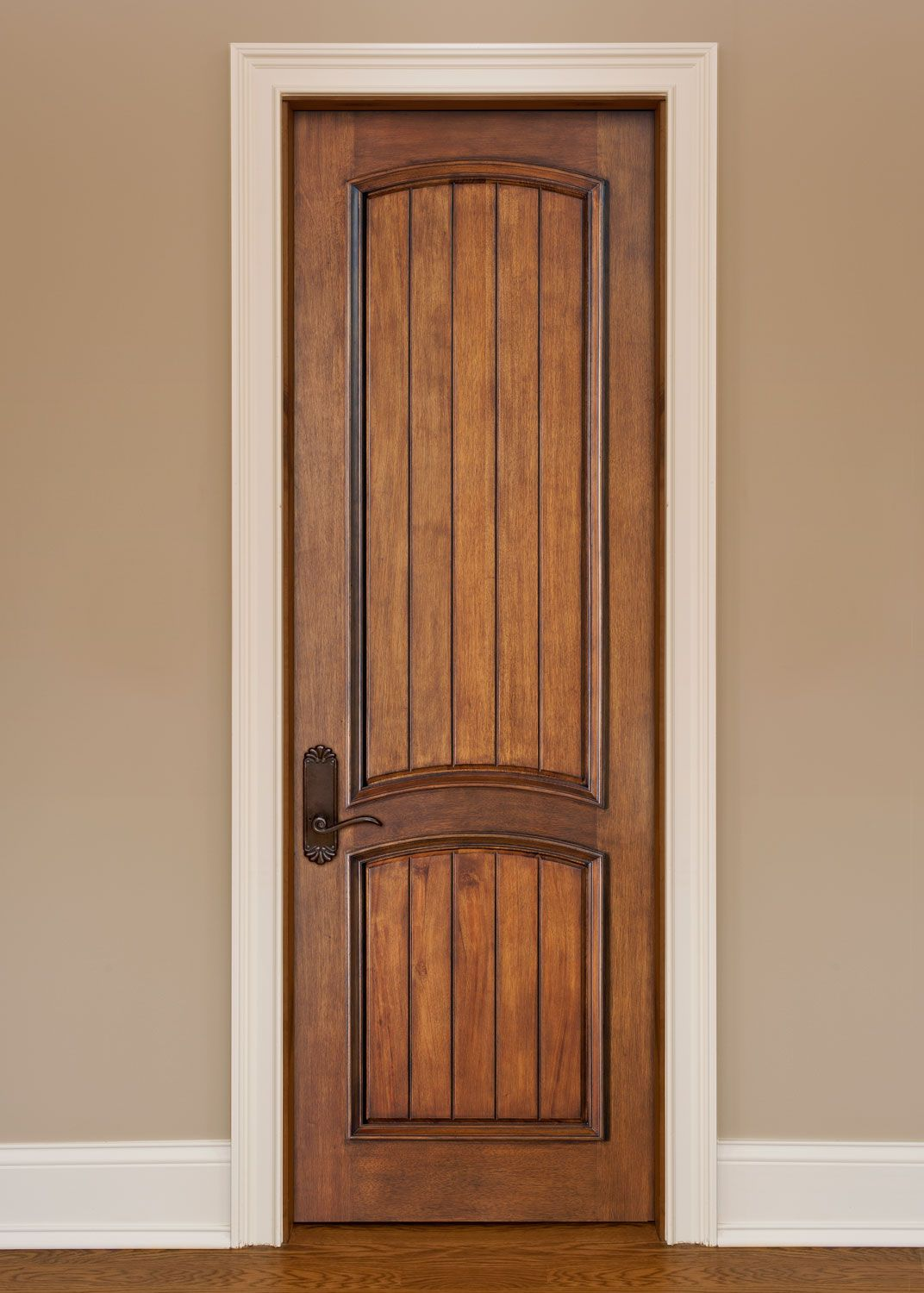 Image of: Tips 2 Panel Arch Top Interior Doors