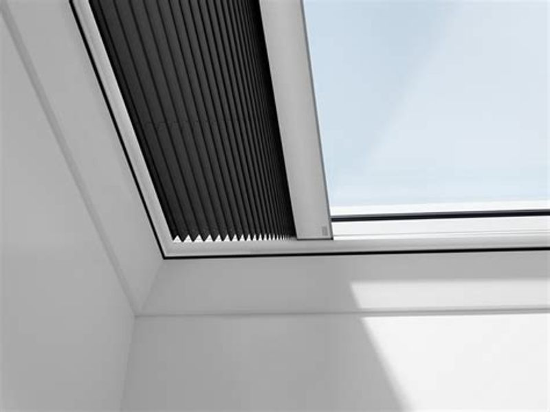 Velux Motorized Skylight Shades