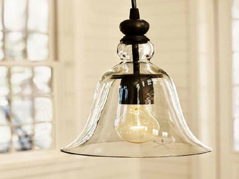 Picture of: Vintage Glass Pendant Lighting
