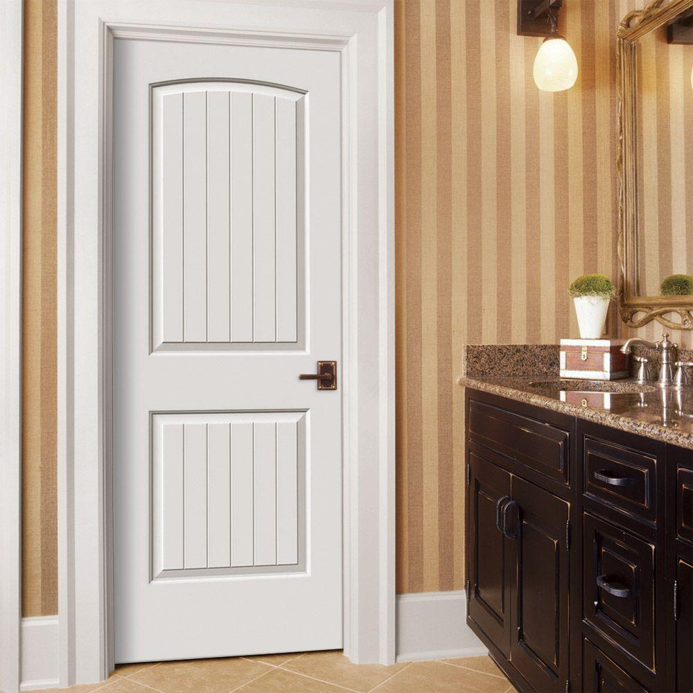 Image of: White 2 Panel Arch Top Interior Doors