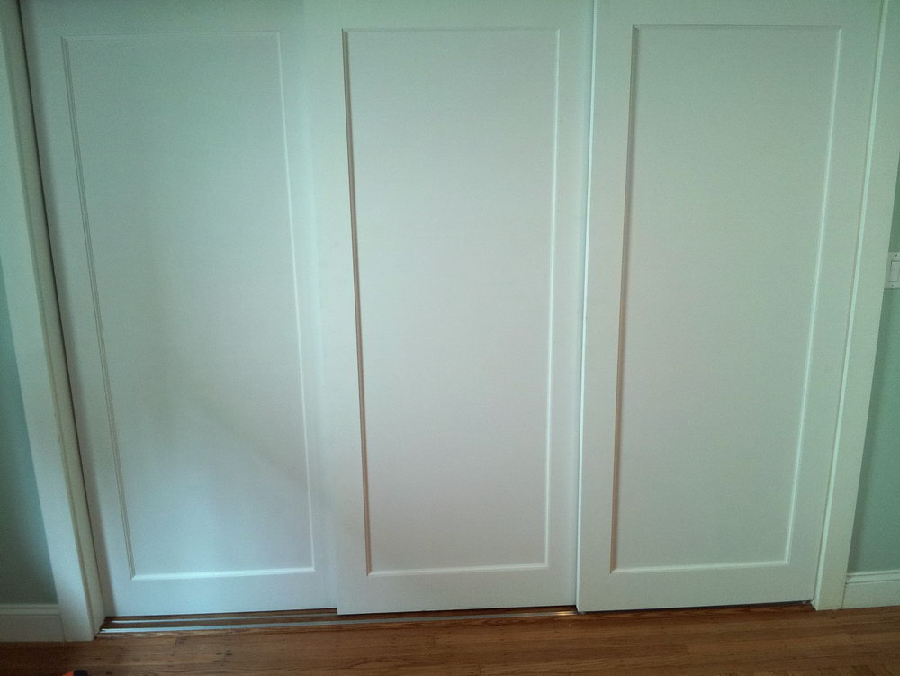 4 Sliding Panel Closet Doors