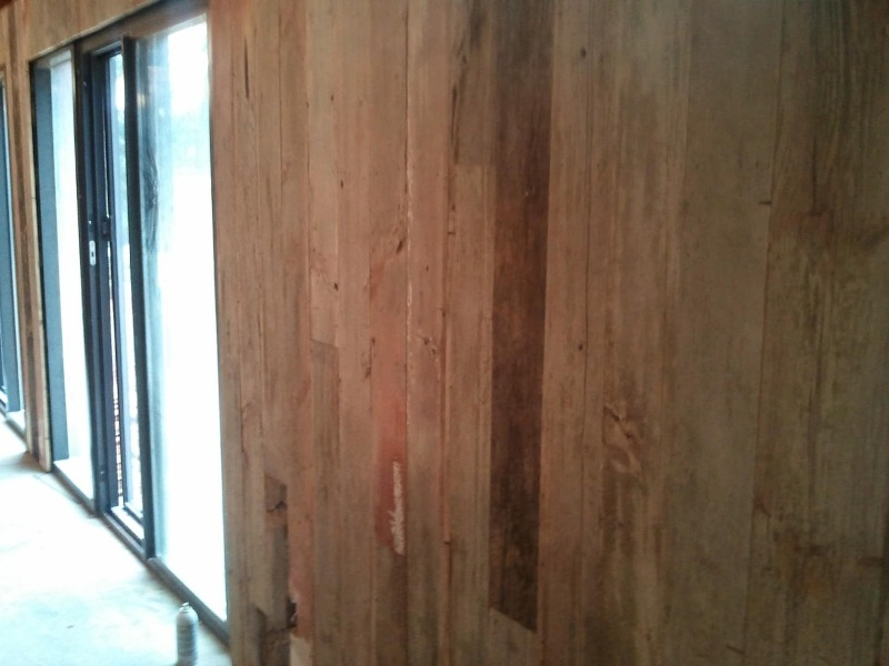 Picture of: 4×8 Exterior Siding Panels With Weathered Wood Look