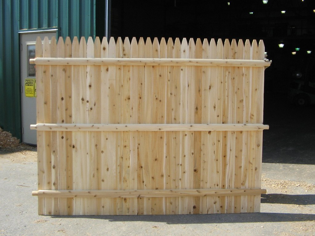 6×8 Wood Fence Panels Buy Direct