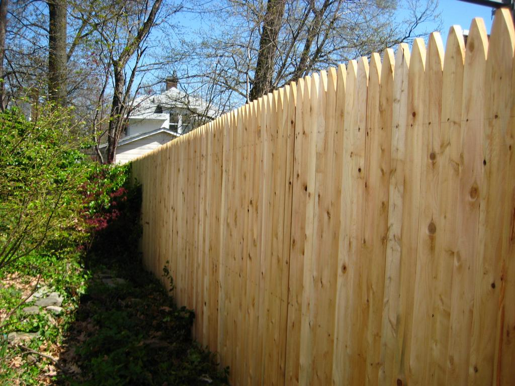 6×8 Wood Fence Panels Delivered
