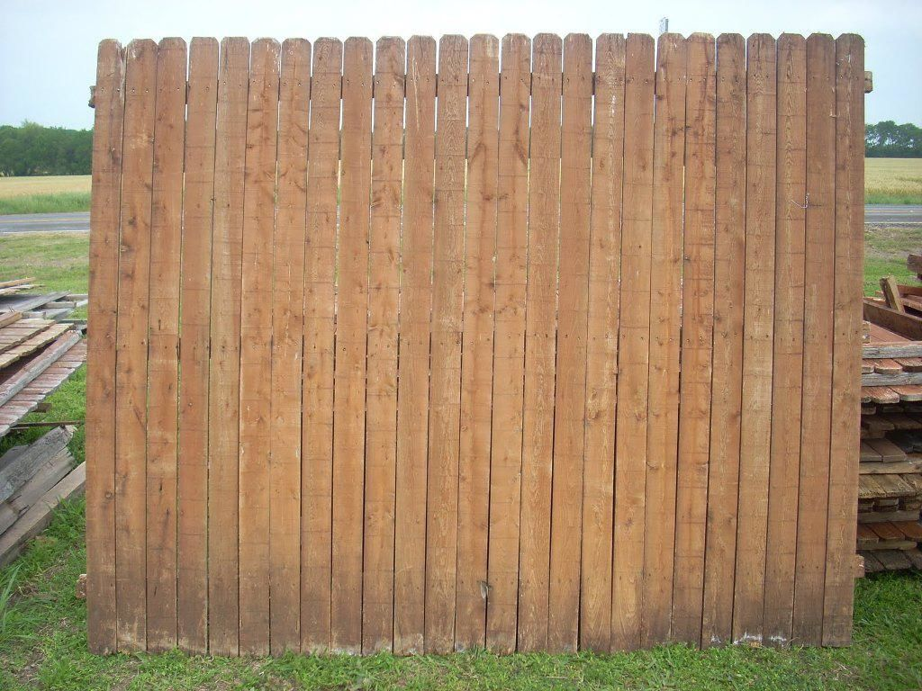 6×8 Wood Fence Panels For Sale