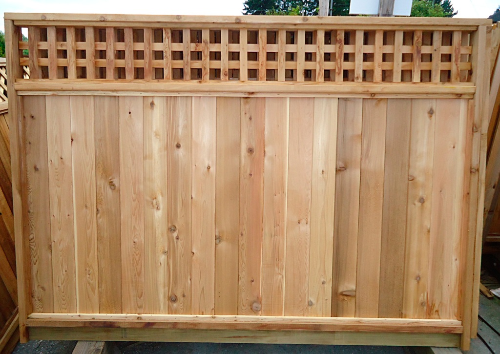 6×8 Wood Fence Panels Installation Design