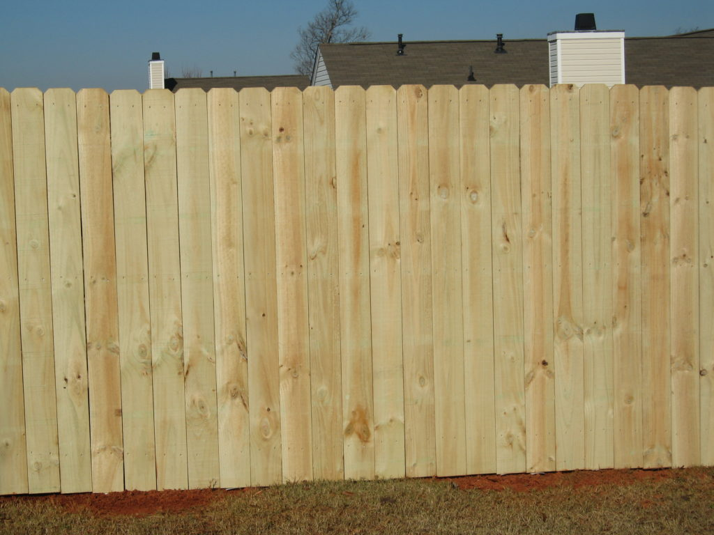 6×8 Wood Fence Panels Menards