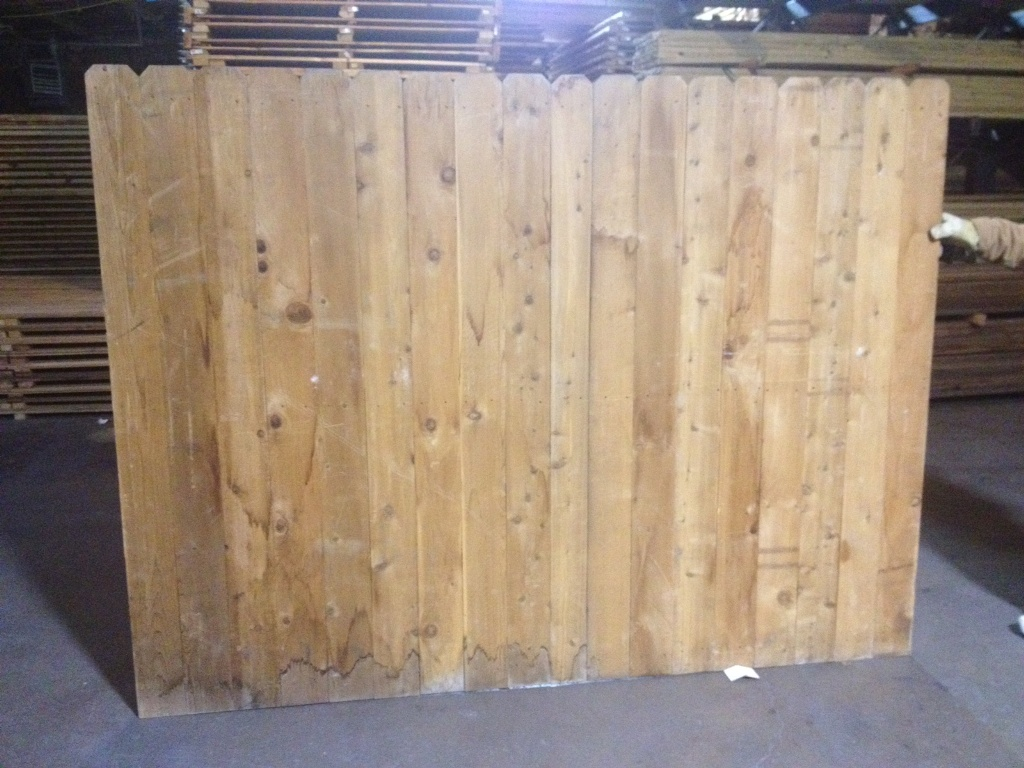 6×8 Wood Fence Panels Prices