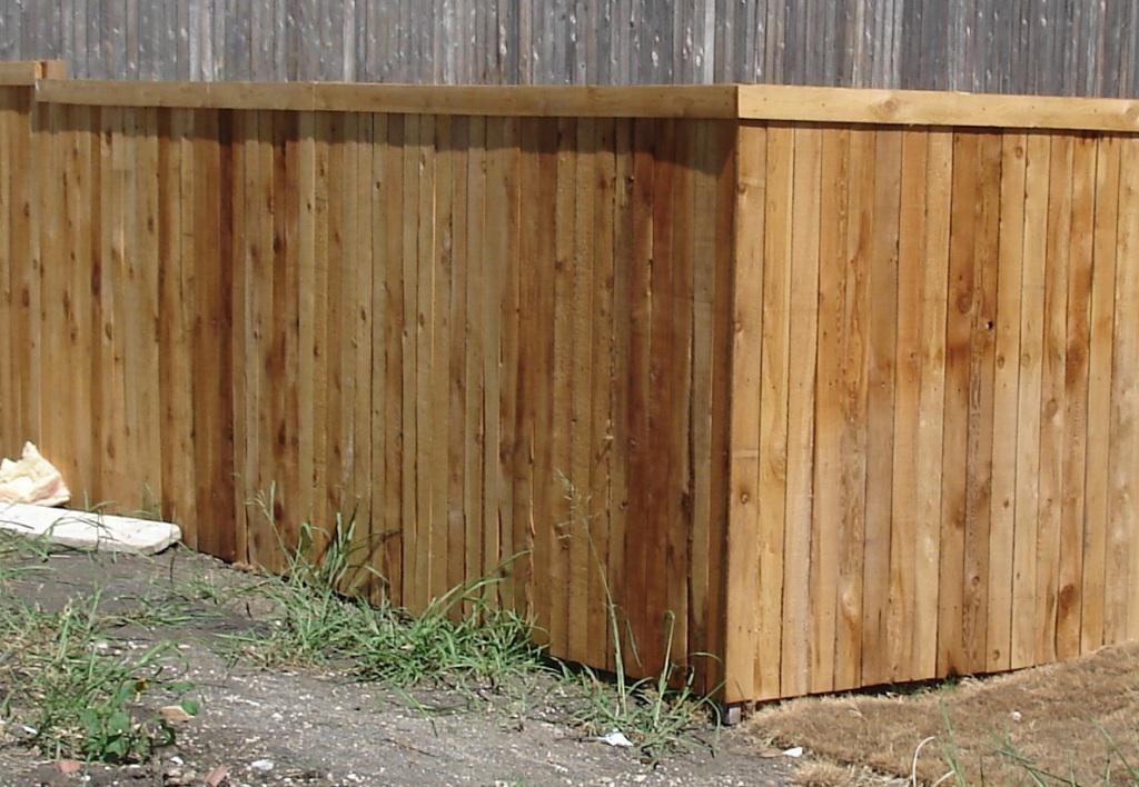 6×8 Wood Fence Panels Repair