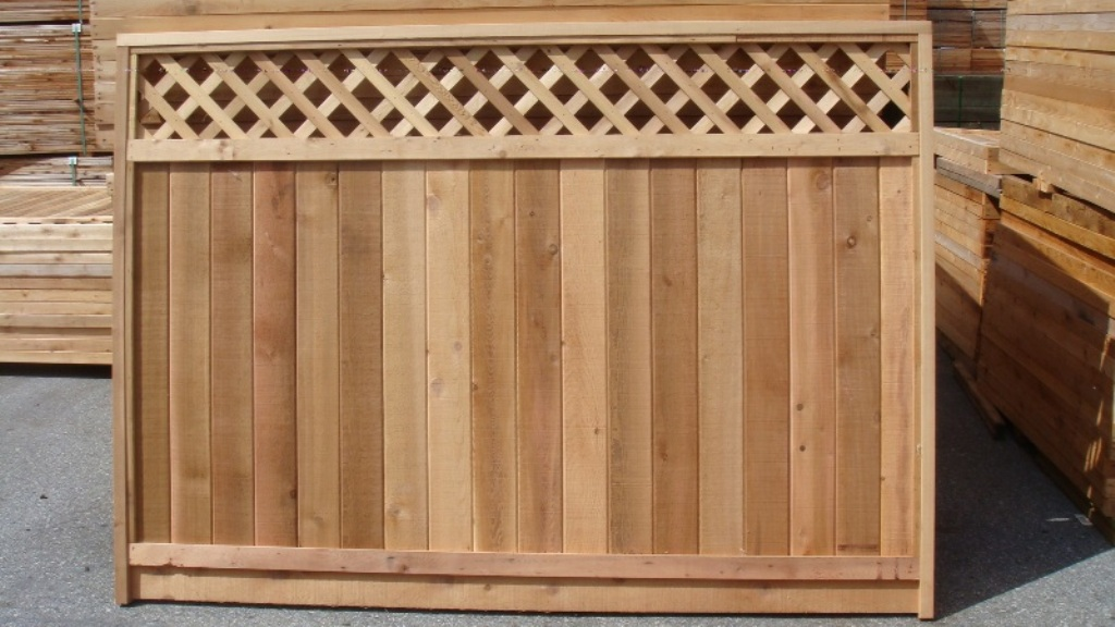 6×8 Wood Fence Panels And Gates