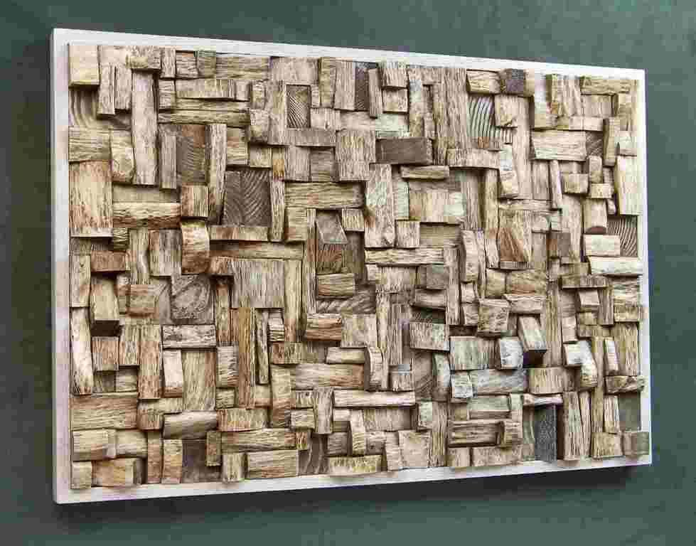 Awesome Wood Panel Wall Art Design