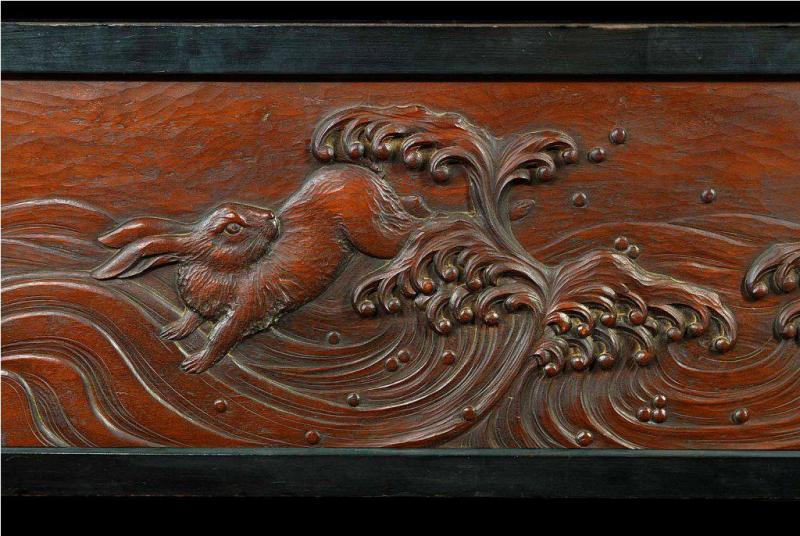 Balinese Carved Wood Panels