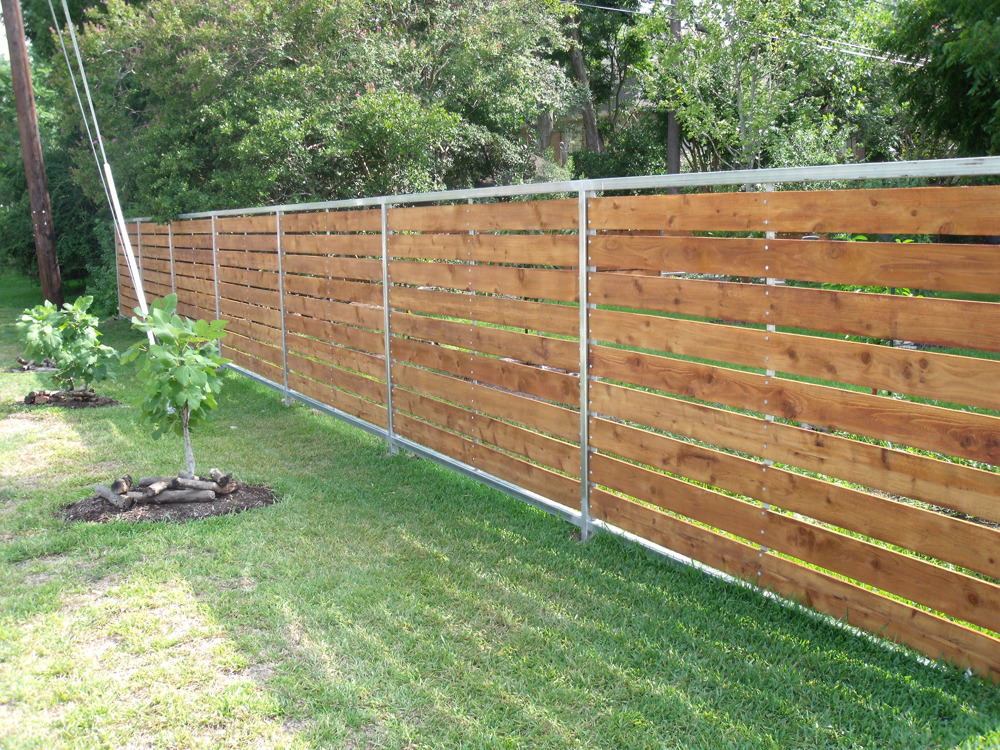 Image of: Beautiful Wood Fencing Panels