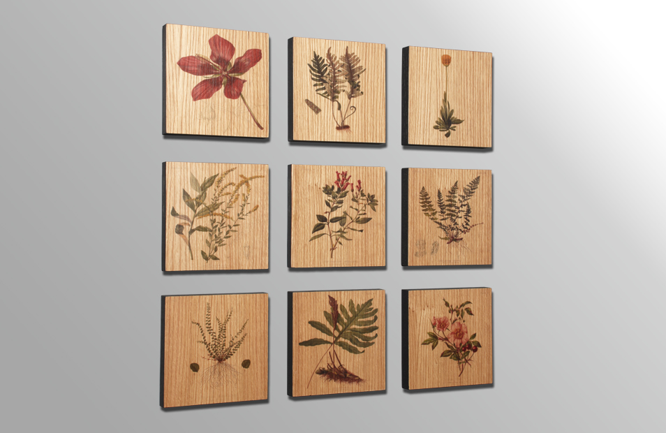 Beautiful Wood Panel Wall Art
