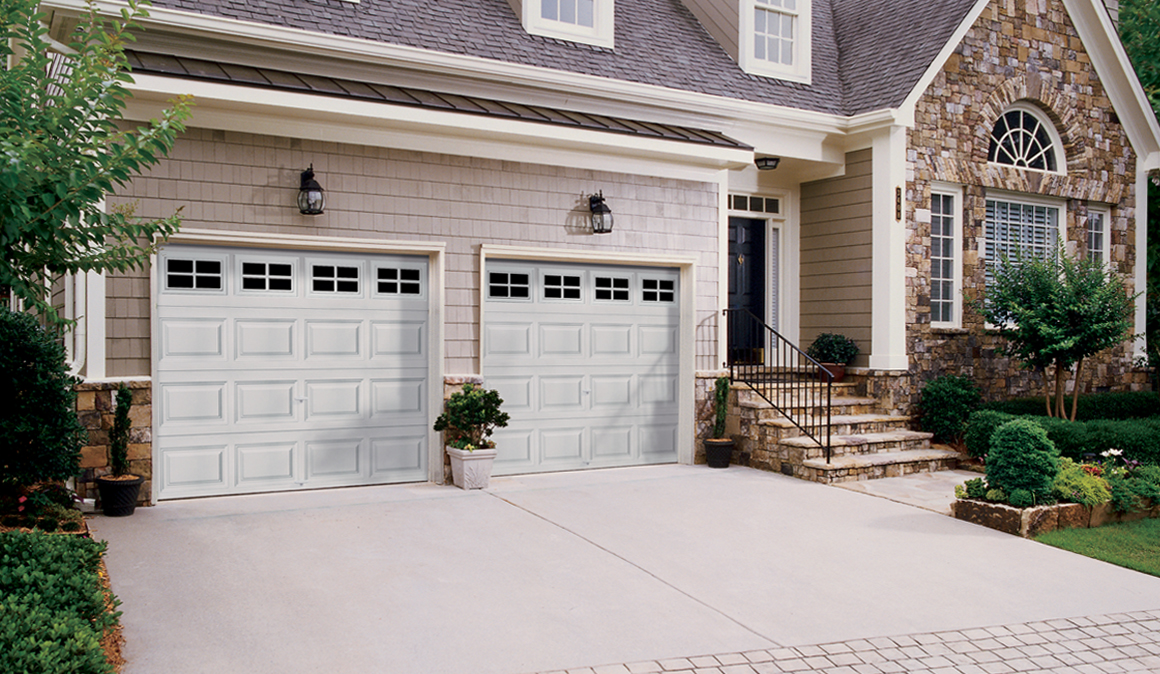 Beauty Flush Panel Garage Door