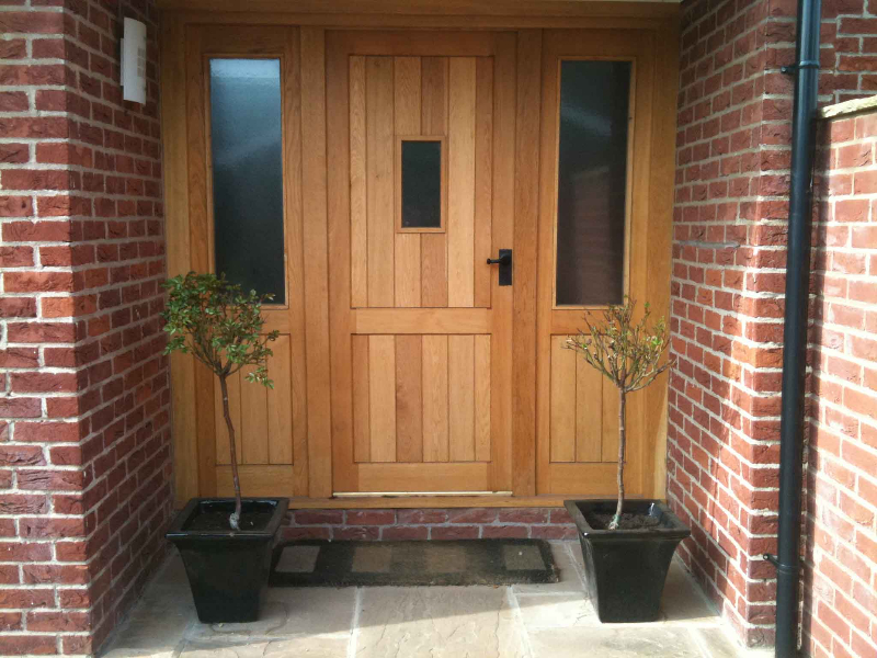 Best Front Doors With Side Panels
