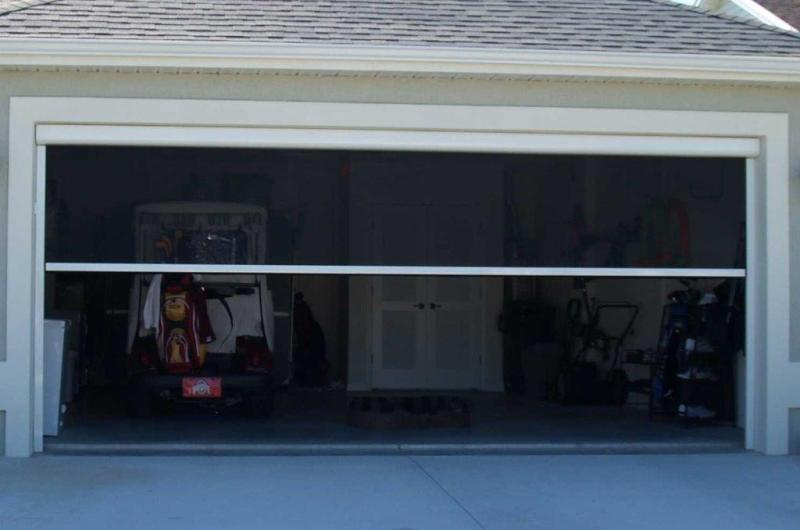 Image of: Best Garage Door Screen Panels
