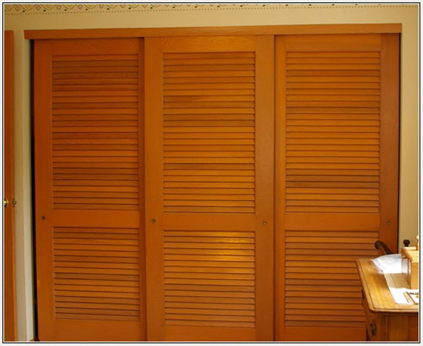 Bypass Sliding Panel Closet Doors