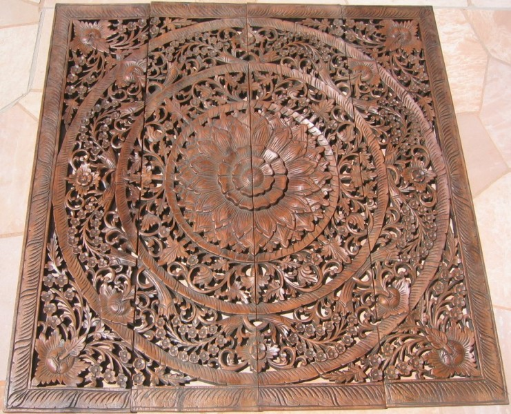 Carved Wood Panels Design