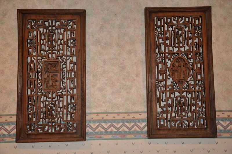 Carved Wood Wall Panel 30×30