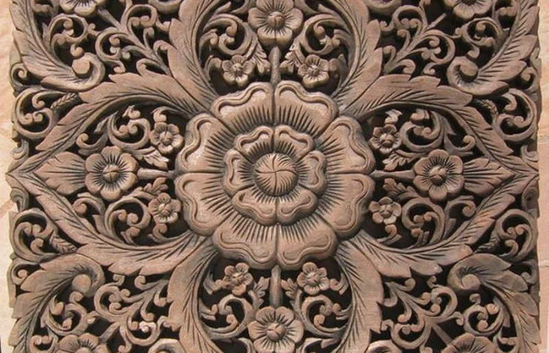 Carved Wood Wall Panel Awesome