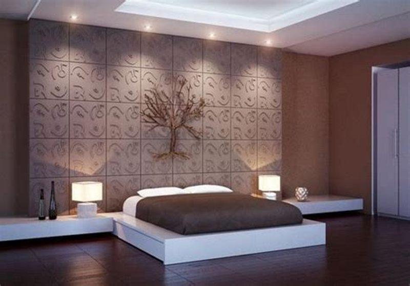 Carved Wood Wall Panel Design