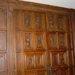 Classic Faux Wood Paneling