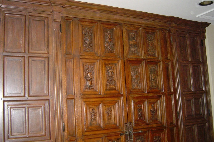 Image of: Classic Faux Wood Paneling