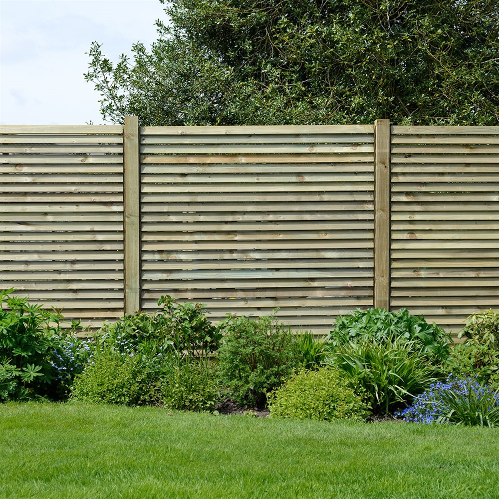 Image of: Cute Wood Fencing Panels