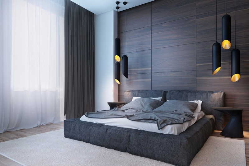 Image of: Dark Wood Paneling For Walls