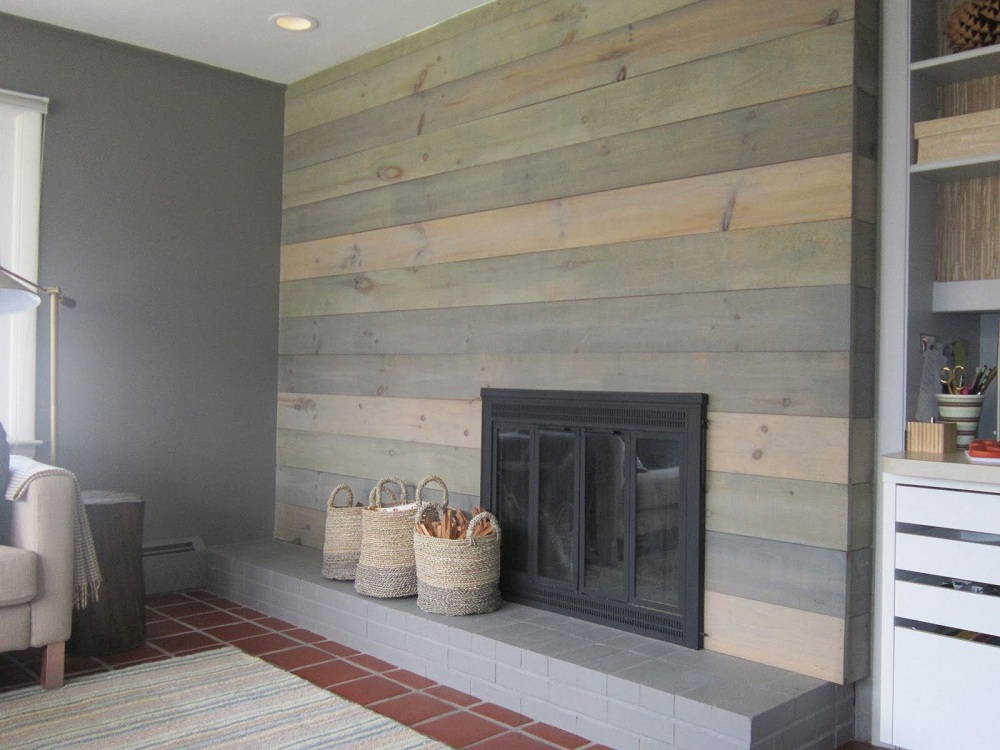 Design Faux Wood Paneling