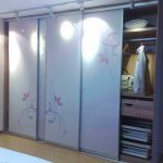 Different Colour Sliding Panel Closet Doors