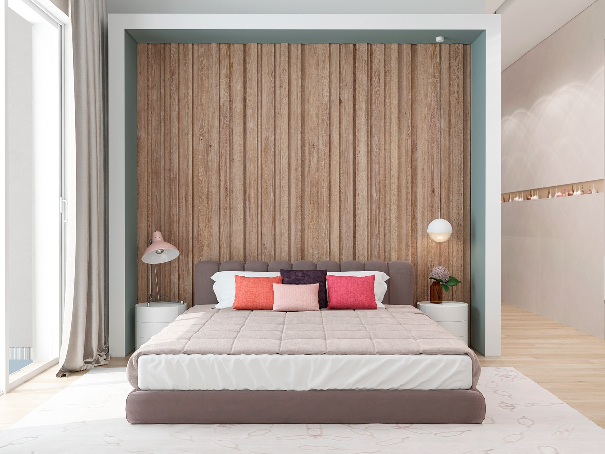 Image of: Distressed Wood Wall Panels Home