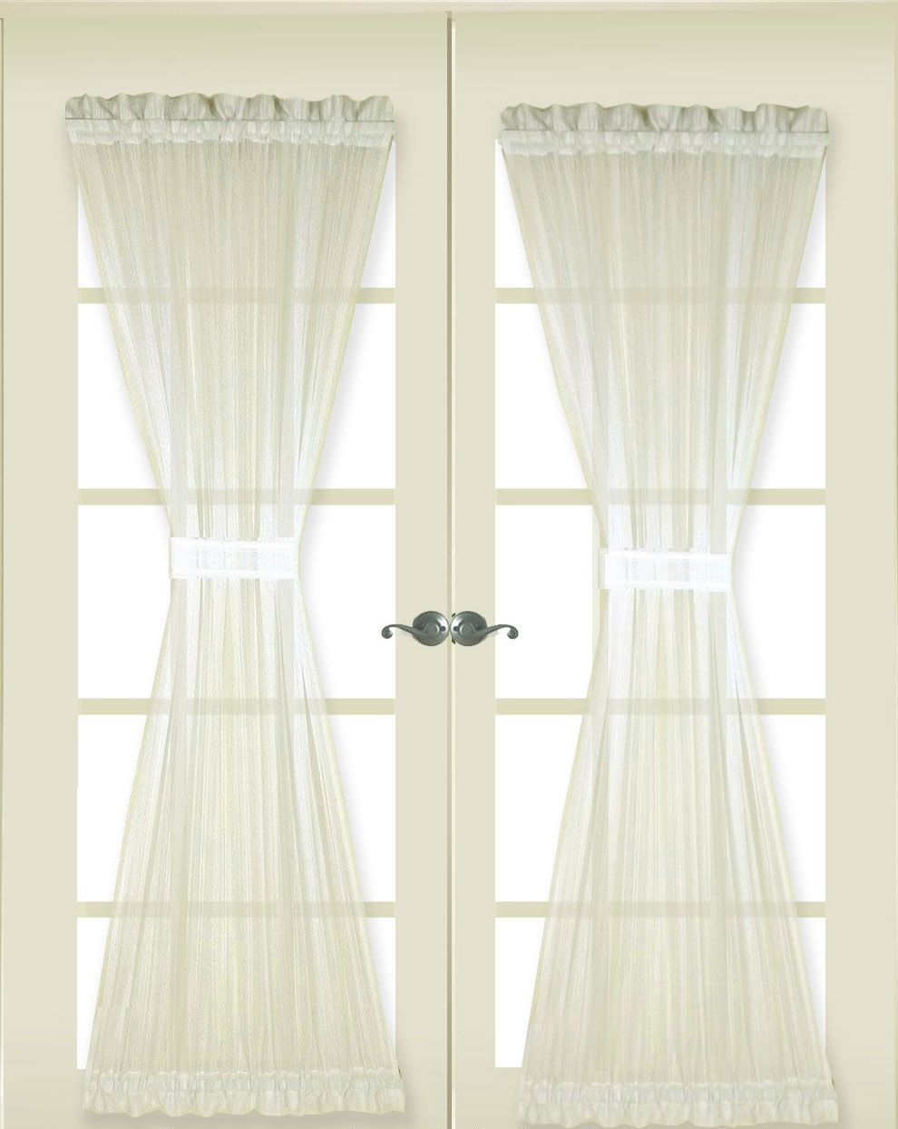 Door Panel Curtain Stripe