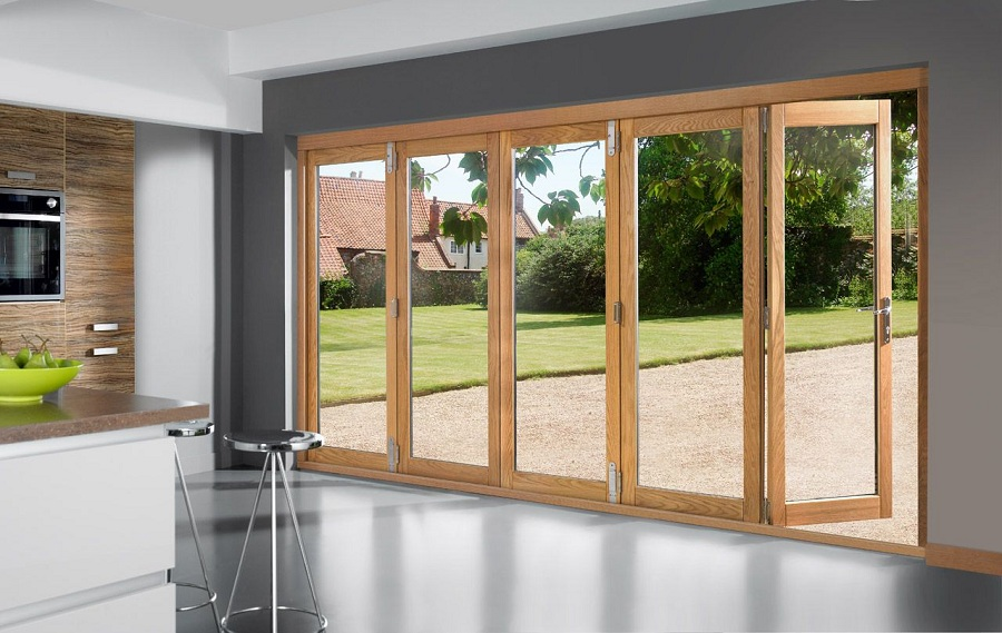 Image of: Elegant Patio Door Panels
