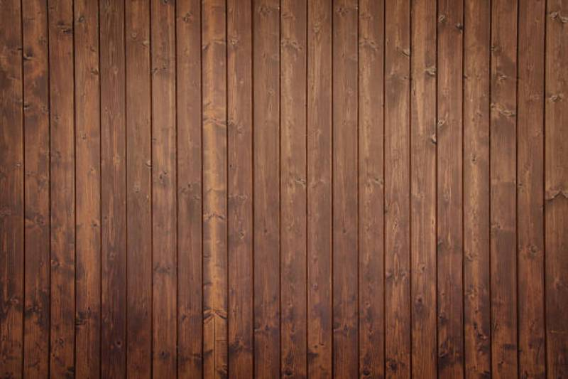 Exterior Wood Paneling Brown