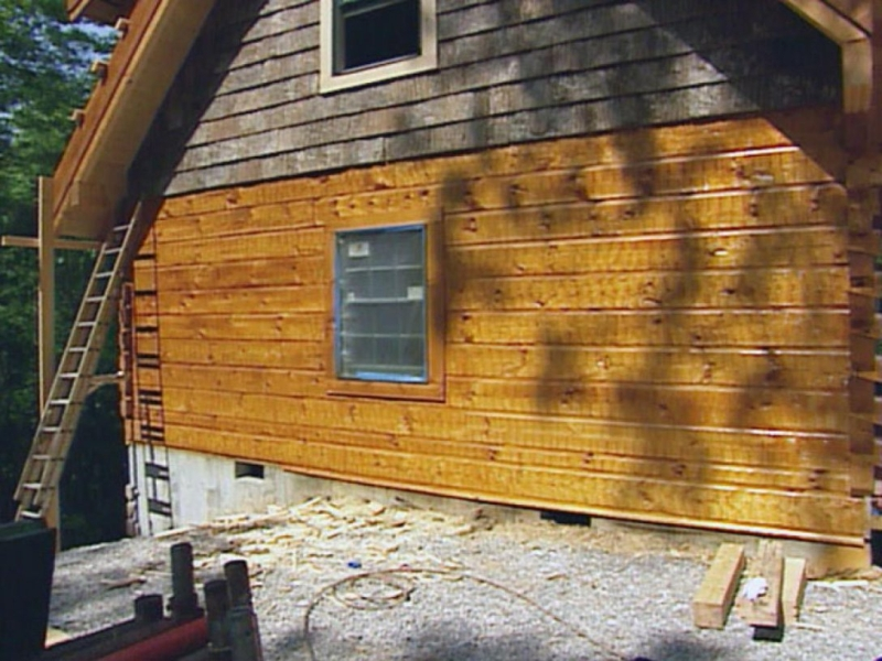 Picture of: Exterior Wood Siding Panels Painting